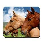 2 Horses Mousepad