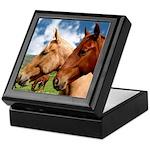 2 Horses Keepsake Box