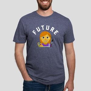 Future Artist Mens Tri-blend T-Shirt