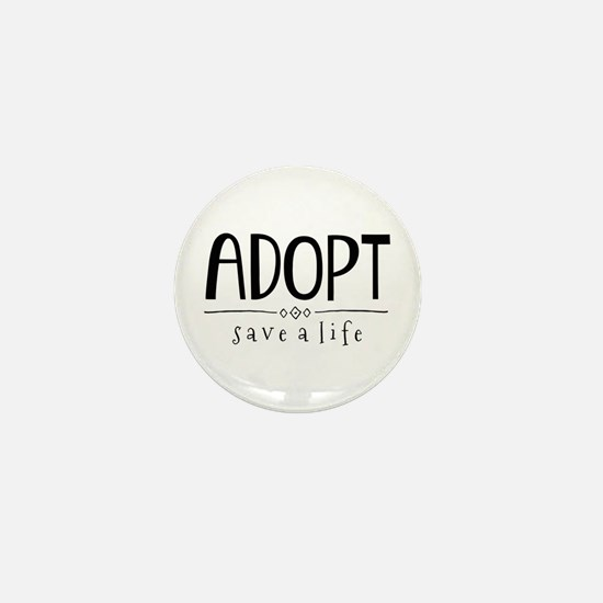 Adopt! Mini Button