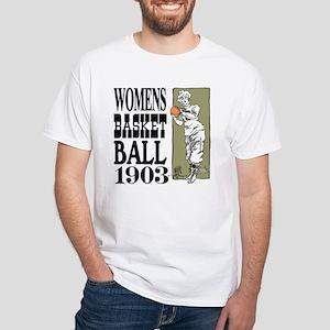 Womens Basketball 1903 White T-Shirt