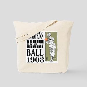 Womens Basketball 1903 Tote Bag