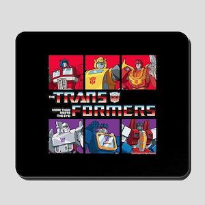 Transformers Autobots Decepticons Mousepad