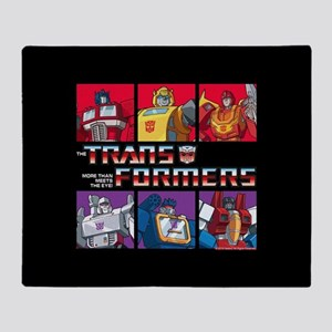Transformers Autobots Decepticons Throw Blanket