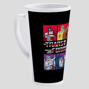Transformers Autobots Decepticons 17 oz Latte Mug