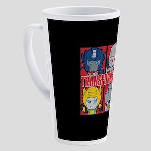 Tranformers Chibis 17 oz Latte Mug