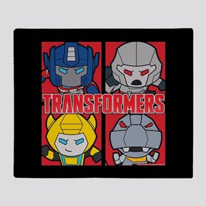 Tranformers Chibis Throw Blanket