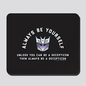 Transformers Always Be a Decepticon Mousepad
