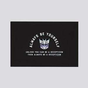 Transformers Always Be a Deceptic Rectangle Magnet