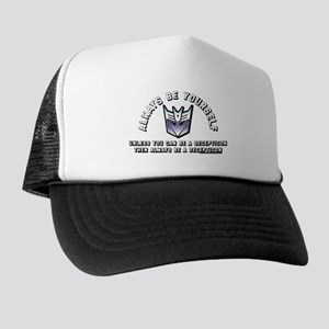 Transformers Always Be a Decepticon Trucker Hat