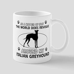 Italian Greyhound Design Mugs