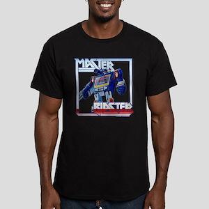 Transformers Master Bl Men's Fitted T-Shirt (dark)
