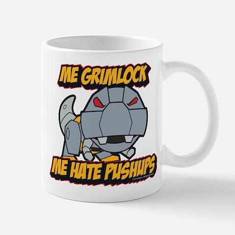 Transformers Me Grimlock Hate Pushups