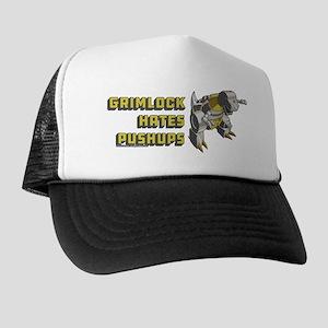 Transformers Grimlock Hates Pushups Trucker Hat