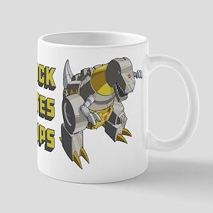 Transformers Grimlock Hates Push 11 oz Ceramic Mug