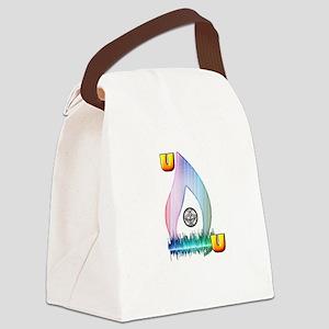 Unitarian Universalist 8 Merchand Canvas Lunch Bag