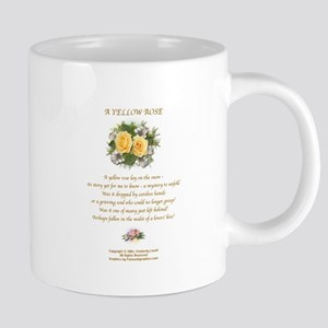 A Yellow Rose2 Large Mug Center Mugs
