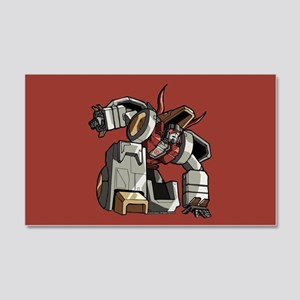 Transfomers Grimlock Crouching 20x12 Wall Decal