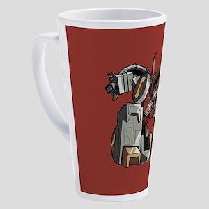 Transfomers Grimlock Crouching 17 oz Latte Mug
