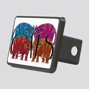 Whimsical CATS Hitch Cover