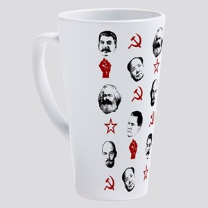 Communist Leaders 17 oz Latte Mug