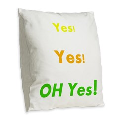 Bedroom Shirt Burlap Throw Pillow