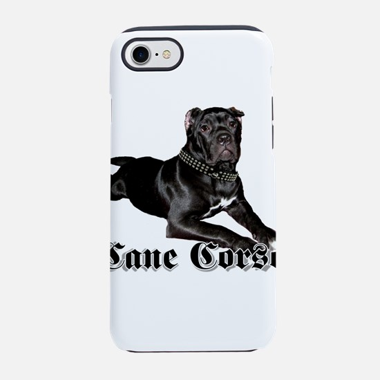 cane corso puppy iPhone 8/7 Tough Case