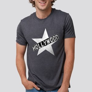 hollywood sign black T-Shirt