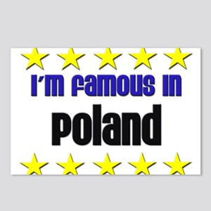 I'm Famous in Poland Postcards (Package of 8)