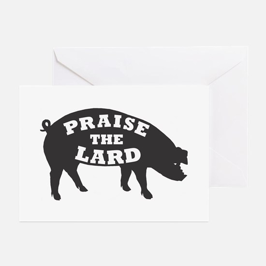 praise lard6 150trans1 Greeting Cards
