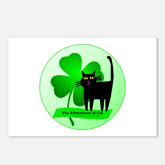 Lucky Clover Postcards (Package of 8)