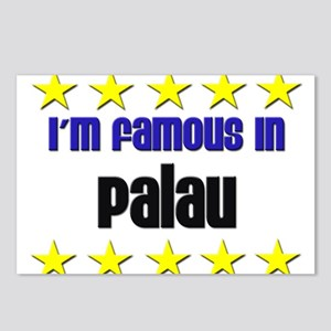 I'm Famous in Palau Postcards (Package of 8)