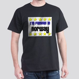 I'm Famous in Norway Dark T-Shirt