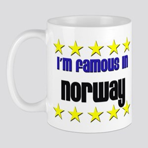 I'm Famous in Norway Mug