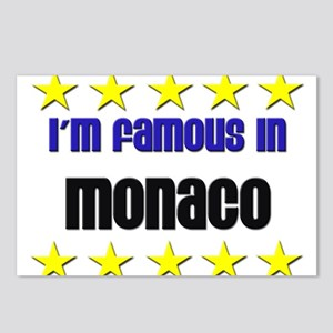 I'm Famous in Monaco Postcards (Package of 8)
