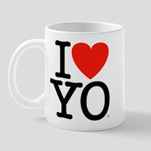 I (Heart) YO Mug
