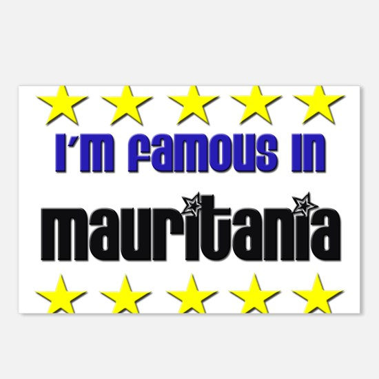 I'm Famous in Mauritania Postcards (Package of 8)