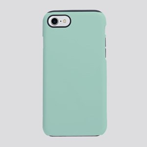 beach mint seafoam green iPhone 8/7 Tough Case