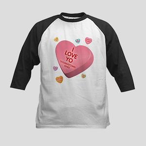 I Love YO-Candy Kids Baseball Jersey