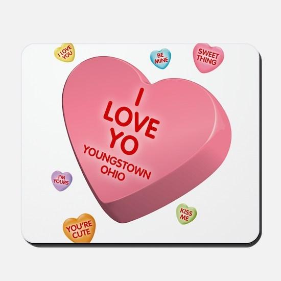 I Love YO-Candy Mousepad