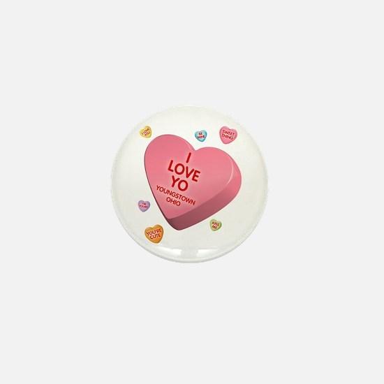 I Love YO-Candy Mini Button
