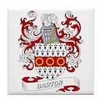 Barton Coat of Arms Tile Coaster