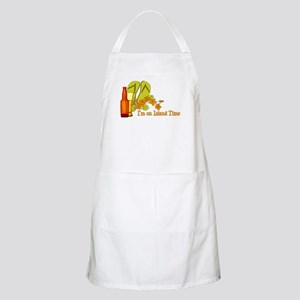 I'm On Island Time BBQ Apron