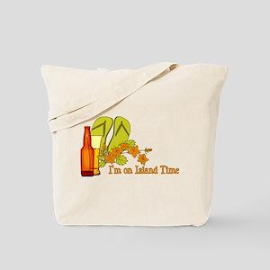 I'm On Island Time Tote Bag