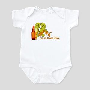 I'm On Island Time Infant Bodysuit