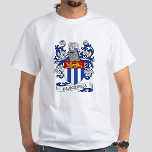 Blackwell Coat of Arms White T-Shirt