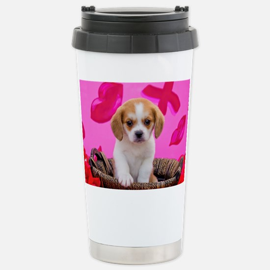 Cute Beaglier Travel Mug