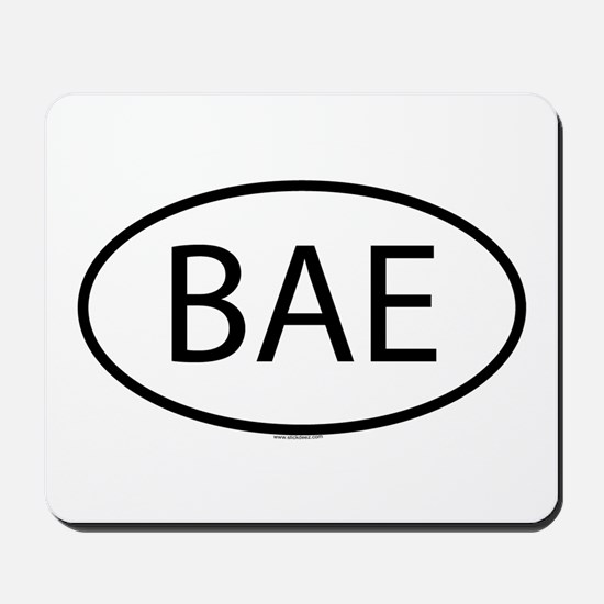 BAE Mousepad