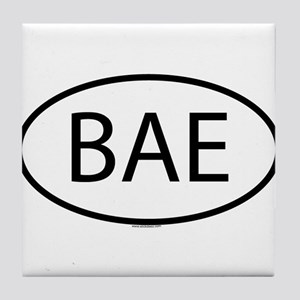 BAE Tile Coaster