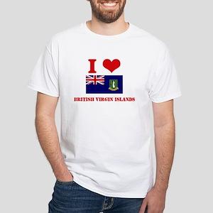 I Love British Virgin Islands T-Shirt